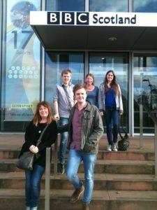 BBC 1group on BBC steps