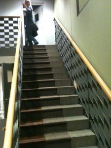 BBC 3 drama stairs