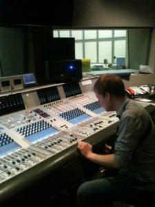 BBC 5 Euan at mixing desk