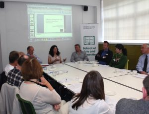 Participants at the event discussed the role of broadcasting in referendum campaigns